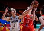 Bentlijai izskaņā nesportiskā piezīme, Slovākija nosargā uzvaru pār Baltkrieviju