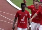 """Video: """"Spartaks"""" sekmīgi izmanto """"Daugavpils"""" dāvanas"""