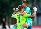 """""""Valmieras"""" vārtsargs Matrevics atzīts par jūnija labāko futbolistu Virslīgā"""