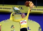 """Pogačars ar komandu kontrolē notikumus un saglabā vadību """"Tour de France"""""""