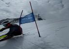 Mūsu vadošie ātrumdisciplīnu kalnu slēpotāji Opmaņi cer uz olimpisko ceļazīmi
