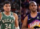 Fīniksas ''Suns'' pirmais vai Milvoki ''Bucks'' otrais franšīzes tituls: sākas NBA fināls