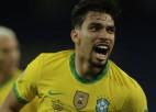 Neimāra elegantā piespēle un Paketas vārti ieved Brazīliju 21. ''Copa America'' finālā