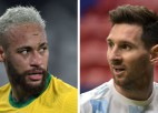 <i>Copa América</i> fināls: Neimārs pret Mesi, Brazīlija pret Argentīnu