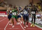 Pārsteigumi 100m vīriešiem un trīssolī sievietēm, ātrākie sezonas 800m Dimanta līgā