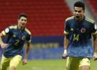 """Kolumbija ar tālsitienu pēdējā sekundē iegūst """"Copa America"""" bronzu"""