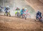Madonā aizvadīts Latvijas Junioru čempionāta trešais posms motokrosā