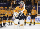 NHL vārtus guvušais vārtsargs Rinne noslēdzis hokejista karjeru