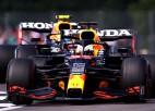 """Verstapens ātrākais """"bezjēdzīgajā"""" otrajā F1 treniņā"""