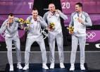 Latvijas 3x3 Sapņu komanda triumfē Tokijas olimpiskajās spēlēs
