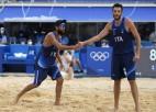 Nikolai un Lupo pirmie grupā, Karambulam un Rosi olimpiskās spēles galā