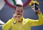 BMX frīstailā par olimpiskajiem čempioniem kļūst Vortingtona un Martins