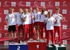 Latvijas U20 izlase triumfē Baltijas komandu čempionātā vieglatlētikā