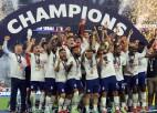 ASV atslēdz Meksikas vārtus papildlaika beigās, atgūstot Zelta kausa trofeju