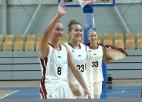 Video: Latvijas sieviešu basketbola izlasei pārliecinoša uzvara pārbaudes spēlē