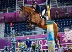 Latviešu jātnieks Neretnieks olimpiskajā debijā iekļūst konkūra finālā