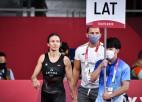 Grigorjeva kvalificējas Tokijas spēļu bronzas pusfinālam