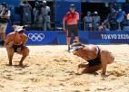 Rosa un Klainmena pārliecinoši kļūst par jaunajām olimpiskajām čempionēm