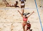 Eiropas čempiones pludmales volejbolā neaizstāvēs titulu, izstājas vēl 11 spēlētājas