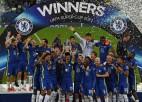 Arizabalaga glābj <i>pendelēs</i>, ''Chelsea'' pārspēj ''Villarreal'' un izcīna UEFA Superkausu
