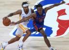 """Topins ar 17+11 sekmē """"Knicks"""" uzvaru pret """"Lakers"""", Strusam septiņi tālmetieni """"Heat"""" panākumā"""