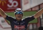 """""""Vuelta a Espana"""" otrajā posmā uzvar beļģis Filipsens"""