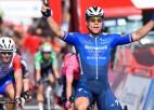 Jākobsens finiša spurtā izcīna otro uzvaru ''Vuelta a Espana'' tūrē