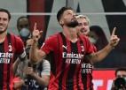 ''Milan'' pirmajā puslaikā nodrošina uzvaru, Mourinju turpina perfekti
