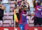 Depajs turpina rezultatīvi, ''Barcelona'' iesit otrajā minūtē un pieveic ''Getafe''