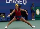 """""""US Open"""" pusfināli: vai Radukanu un Fernandesa noorganizēs tīņu finālu?"""