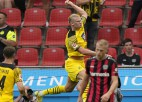 Holanns turpina <i>bombardēt</i>, Dortmunde izrauj uzvaru, ''Bayern'' sakauj ''Leipzig''