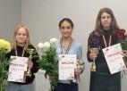 Jauna valsts čempione 100 lauciņu dambretē sievietēm