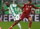 ''Bayern'' puslaiku spēlē mazākumā, tik un tā pārliecinoši uzveic ''Greuther Furth'''
