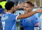 ''Lazio'' rezultatīvā derbijā pieveic ''Roma'', ''Napoli'' sestā uzvara pēc kārtas