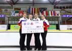 Par Pasaules kērlinga tūres uzvarētājiem Tukumā kļūst Krievijas un Skotijas komandas