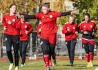 Latvijas sieviešu U19 izlase negūst vārtus pret Lihtenšteinu, paliekot pēdējā