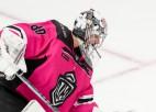 """Video: KHL nedēļas skaistākā ripa ielido Rīgas """"Dinamo"""" vārtos"""
