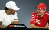"""Hamiltons pārsteigts par """"Mercedes"""" atrāvienu: """"Nekas par to neliecināja"""""""