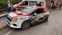 Seskam smaga avārija Moncas WRC rallijā