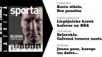"""Bez piruetēm un ar vārtu sajūtu – """"Sporta Avīze"""" maijā"""