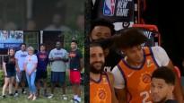 """""""Suns"""" starta piecinieku burbulī piesaka tuvinieki"""