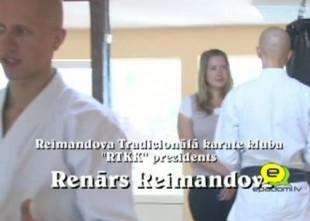 """Video: """"Galvenais ir iet un darīt"""": viesos pie Reimandova Tradicionālā karate kluba prezidenta Renāra Reimandova"""