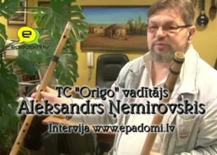 """Video: """"Laiks nav nauda"""": intervija ar TC Origo vadītāju Aleksandru Ņemirovski"""