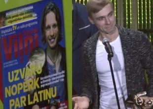 Video: Kā Dons saņēma trīs Zelta Mikrofonus un Joranu