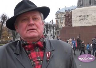 Video: Jānis Ūdris Latvijas svētkos aicina tautiešus notikumus vērtēt atbildīgāk
