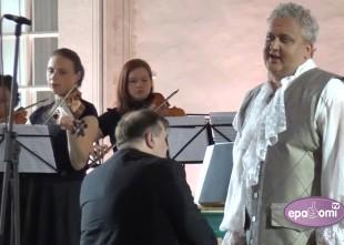 Video: Unikāls video –  kontrtenors Sergejs Jēgers izpilda sarežģītu Farinelli skaņdarbu