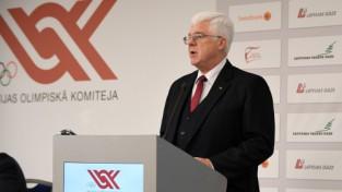 Vrubļevskis uz vēl vienu termiņu pārvēlēts LOK prezidenta amatā