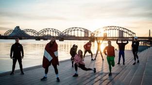 """""""Run For Fun"""" izaicinājums - 4. maija skrējiens visā Latvijā"""