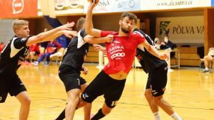 Meikšānam divi vārti, ''Serviti'' EHF Eiropas kausa <i>Last16</i> uzsāk ar neizšķirtu