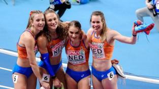 Eiropas čempionātā telpās lielāko medaļu ražu sakrāj Nīderlande un Lielbritānija